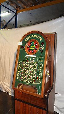 Münzroulette, Rouletteautomat, Casino, Roulette, defekt, C865