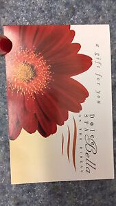 Dolce Bella spa gift card