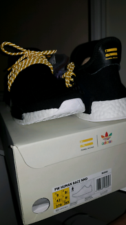 Adidas x Pharrell Williams Human Race NMD black colourway sz US9