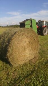 4x5 round bales of hay for sale!
