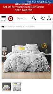 King size marble quild cover set brand new Cleveland Redland Area Preview