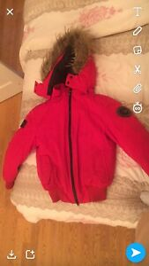 Red winter coat tbgn
