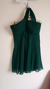 Bottle green cocktail/party dress size 14. Bracken Ridge Brisbane North East Preview