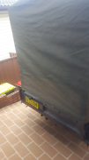 6ft box trailer with cage, cover and accessories  Engadine Sutherland Area Preview
