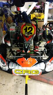 Crg Rotax 125 Gokart West Hoxton Liverpool Area Preview