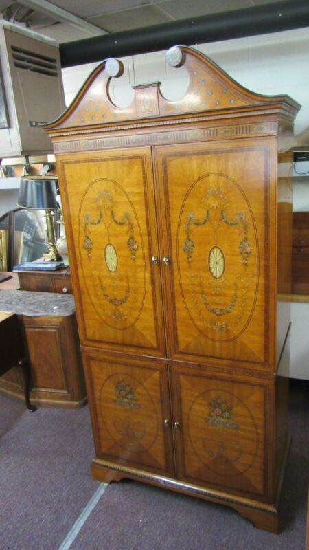 Drexel Armoire Wardrobe French Beautiful Designer