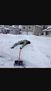 RELIABLE SNOW REMOVAL ! 125 MONTHLY !  20 A DRIVEWAY !  Regina Regina Area image 2