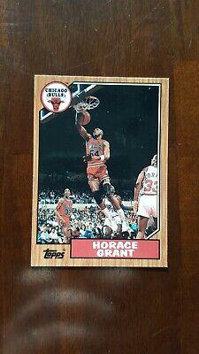 1992-93 Topps Archives Basketball #91 Horace Grant Chicago Bulls