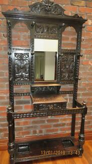 Antique Victorian Hall Stand