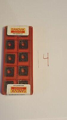 Sandvik Lathe Turning Insert - Square - Snmg 12 04 12-mf 433-mf 4225 - 10x