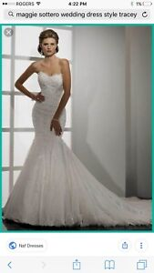 Wedding Dress and Veil for Sale -Maggie Sottero Wedding Dress