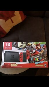 Bran new Mario odessey switch bundle