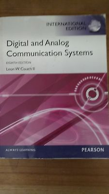 - Digital & Analog Communication Systems (Paperback) by Leon W. Couch