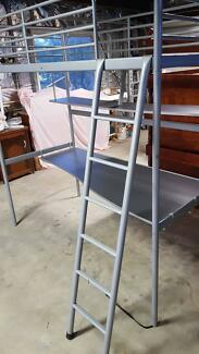 Ikea loft bed with desk in good conditon