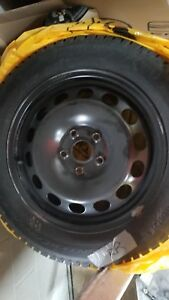 Almost brand new Continental Winter Tires