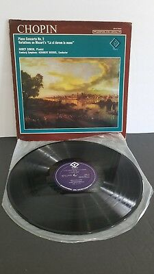 RARE CHOPIN PIANO CONCERTO NO.2 IN F MINOR  OP.21 TURNABOUT EXCELLENT CONDITION