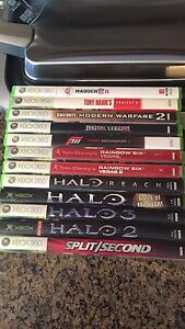 Xbox 360 games $5 each or all for $50