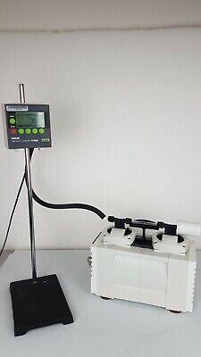 Loud For Parts Buchi V-500 P Rotary Evaporator Diaphragm Vacuum Pump - 8 Mbar