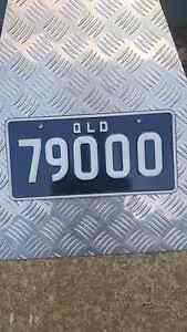 Number plates.   79OOO Southport Gold Coast City Preview
