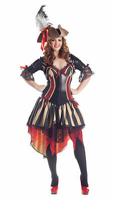 Pirate Woman Halloween Costumes (NWT HALLOWEEN WOMEN PIRATE WENCH COSTUME PARTY THEATRICAL QUALITY BODY SHAPER )