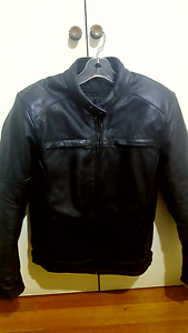 Armoured leather jacket Msize eu50 St Kilda Port Phillip Preview