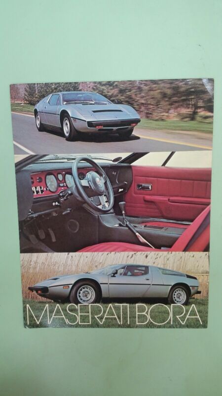 Maserati Bora brochure or flyer