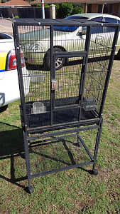 Bird cage with custom made cover Stratton Swan Area Preview