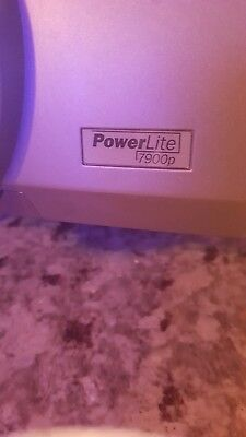 Epson PowerLite 7900P (EMP-7900) Multimedia LCD Projector with Working Lamp