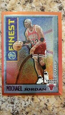 1995-1996 Topps Mystery Finest Michael Jordan Chicago Bulls #M1 Basketball Card