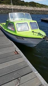 15 foot half cab Stejcraft fishing boat Munno Para Playford Area Preview