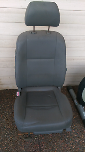 Passenger seat, leather, out of GM car (holden?) suit dune buggy Shortland Newcastle Area Preview
