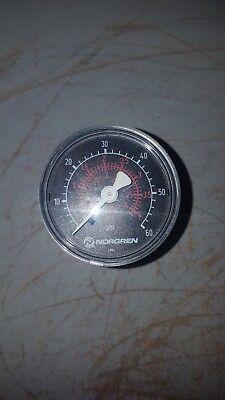 Norgren Pressure Gauge 0-60psi 346582