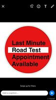 Driving school quick road test $35 G, G2