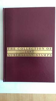 Stamp Book Collection 1987