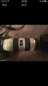 Selling my 5D mark ii with 70-200mm f2.8 L IS USM. LOW COUNTS