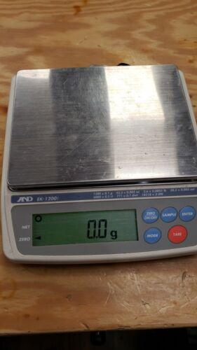 AND EK-1200i Digital Precision Jewelry Scale Parts Repair