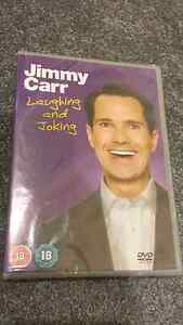 ☆NEW☆ Jimmy Carr DVD Laughing & Joking dvd Strathmore Moonee Valley Preview