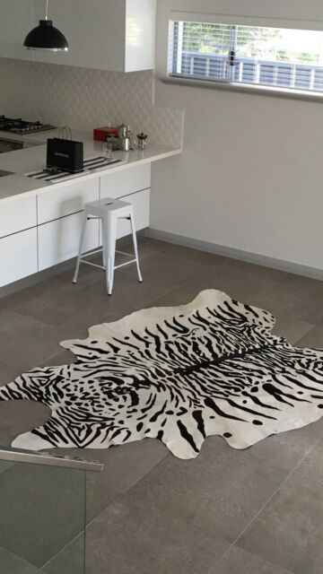White Natural Cowhide Rug Rugs Carpets Gumtree