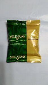 Millstone Colombian Decaffeinated Ground Coffee 1.75oz Bag 2 bags 100% Colombian