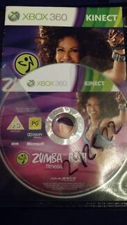 Zumba disc for Xbox 360 Moulden Palmerston Area Preview