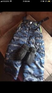 2T CAMO TODDLER / BABY SNOWPANTS