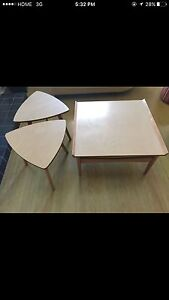 Mid Century Modern, Imperial coffee table and two side tables