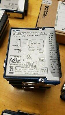 National Instruments Ni 9206 Cdaq Isolated Analog Input Module