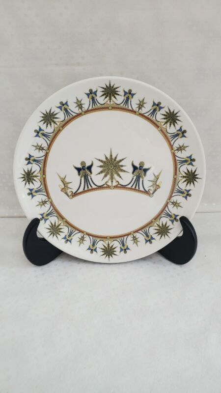 Disneyland 50th Anniversary Celebration Plate #3 The Blue Fairy Dudson China