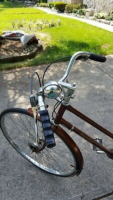 6d82e989ad0 Raleigh Sprite Ladies Touring 10 Speed Bicycle Made In England Coffee Color
