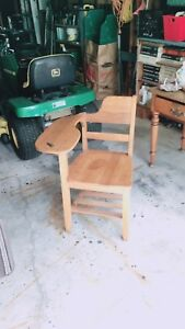 Antique School Desk/Chair