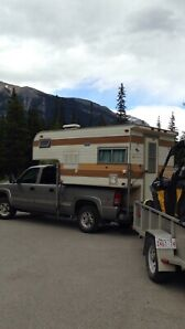 Truck and camper for sale
