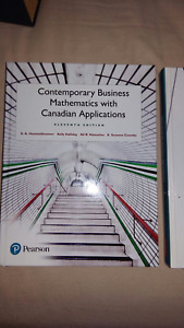 Contemporary Business Mathematics with Canafian Applications