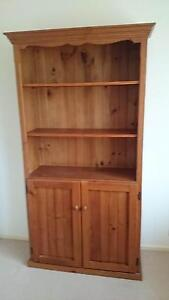Pine Bookcase with adjustable shelves Roseville Ku-ring-gai Area Preview