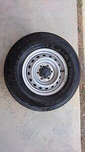 Steel wheels and tyres x4 Dungog Dungog Area Preview